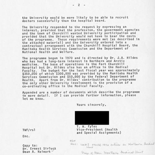 Fyles to Bateman Correspondence (2)
