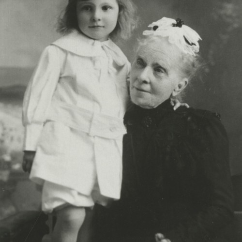 As a Child with his Grandmother