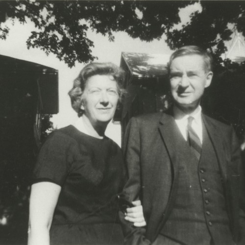 Joe and his wife, Nona