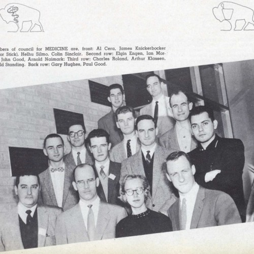 Medical Student Council, 1957